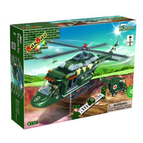 BanBao Defence Force - Medical Helicopter 8253