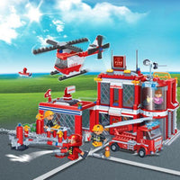 BanBao Fire and Rescue Bundle Package - Grace Baby