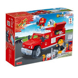 BanBao Fire and Rescue - Fire Jeep 8316 - Grace Baby