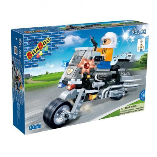 BanBao Police - Police Motorbike 8351 - Grace Baby