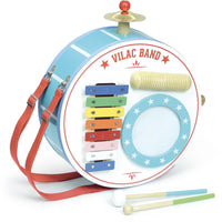 Vilac One-man-band Musical Toy - Grace Baby