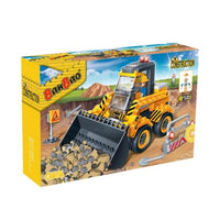 BanBao Construction - Mini Excavator Digger 8539 - Grace Baby