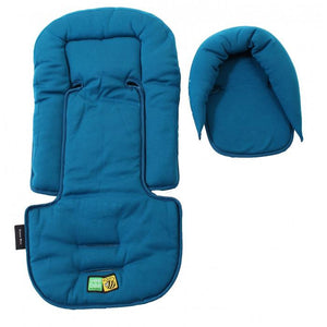 Vee Bee Allsorts Seatpad & Headhugger - Ocean Blue