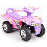 Toddler Kids Sport ATV Ride-On Toy Mini Quad Bike - Pink - Grace Baby