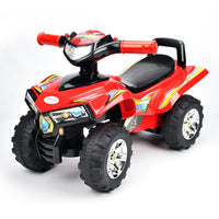 Toddler Kids Sport ATV Ride-On Toy Mini Quad Bike - Red - Grace Baby