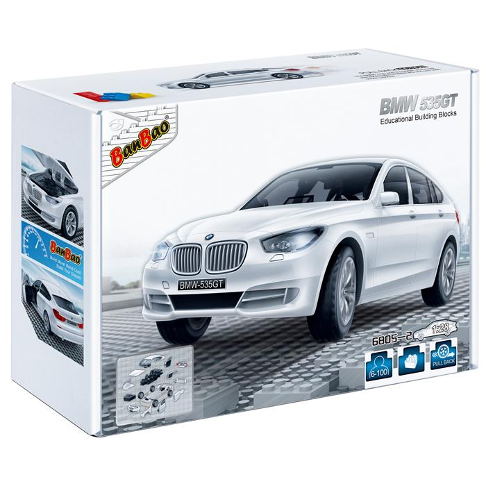 BanBao BMW 535GT White - Grace Baby
