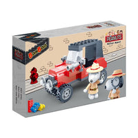 BanBao Peanuts - Agent Snoopy's Automobile - Grace Baby