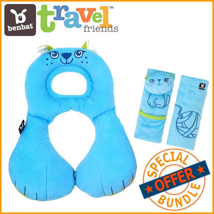 BenBat Travel Friends Value Package - Cat - Grace Baby