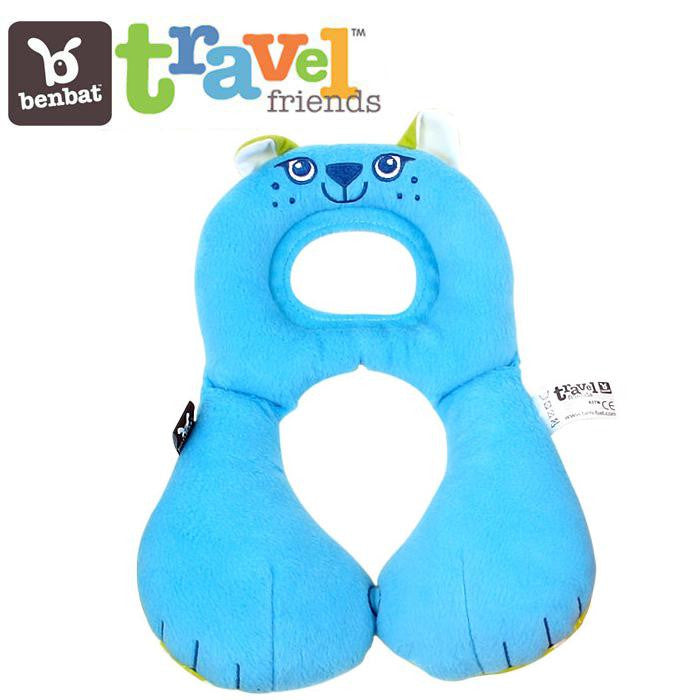 BenBat Travel Friends Total Head Support 1 - 4 Years - Cat - Grace Baby