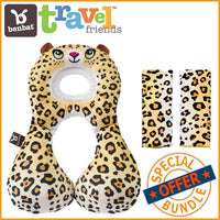 BenBat Travel Friends Value Package - Leopard - Grace Baby
