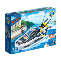 BanBao Police - Water Police Speedboat - Grace Baby
