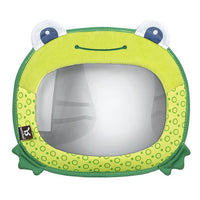 BenBat Travel Friends Baby Car Mirror - Frog - Grace Baby