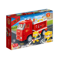 BanBao Fire and Rescue - Fire Rescue Truck - Grace Baby