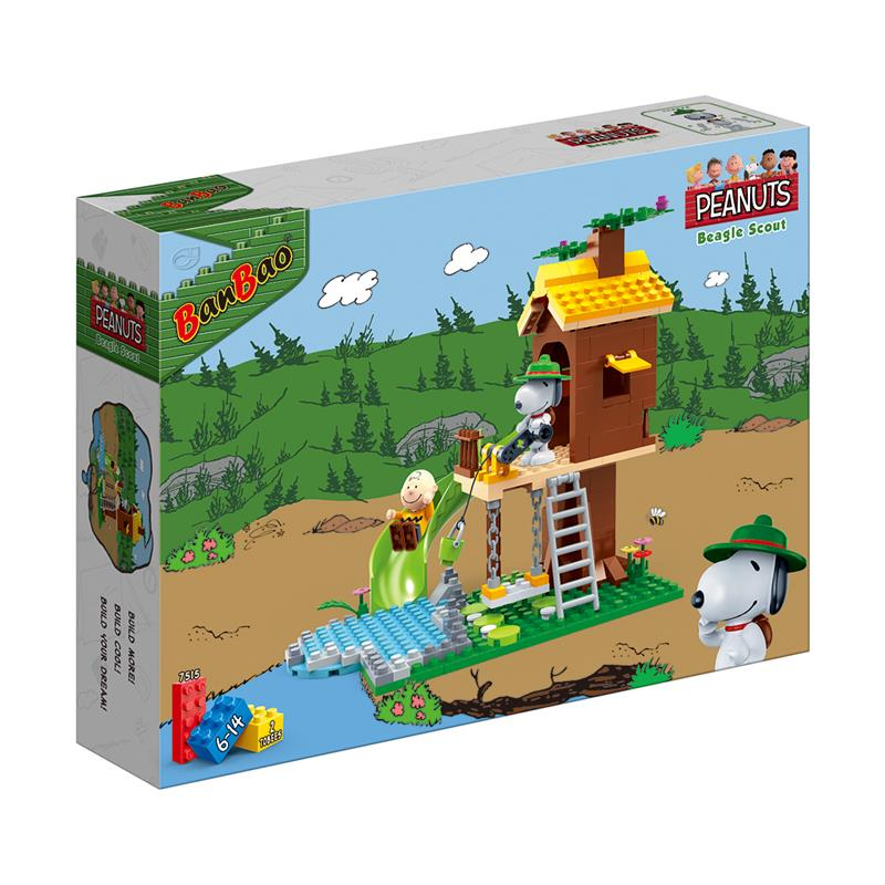 39a3d4c7d793 BanBao Peanuts - Snoopy Lookout Tower