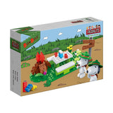 BanBao Peanuts - Snoopy Scout Picnic - Grace Baby