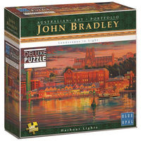 Blue Opal - John Bradley Harbour Lights Puzzle 1000pc - Grace Baby