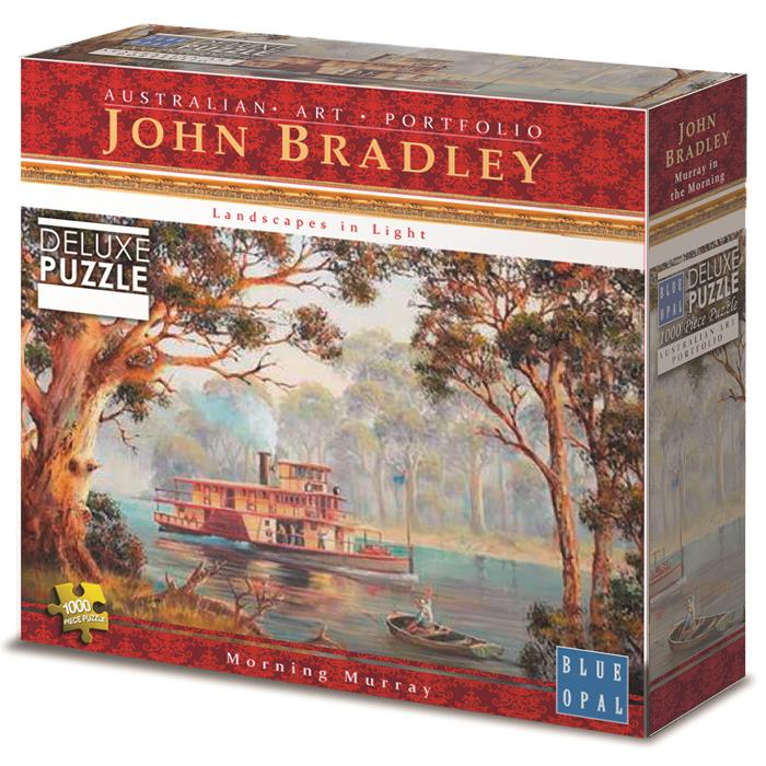 Blue Opal - Murray In The Morning 1000 Piece Jigsaw Puzzle - John Bradley - Grace Baby