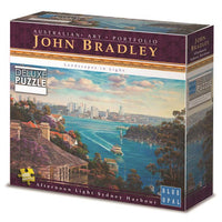 Blue Opal - John Bradley - Afternoon Sydney Harbour 1000pc Puzzle - Grace Baby