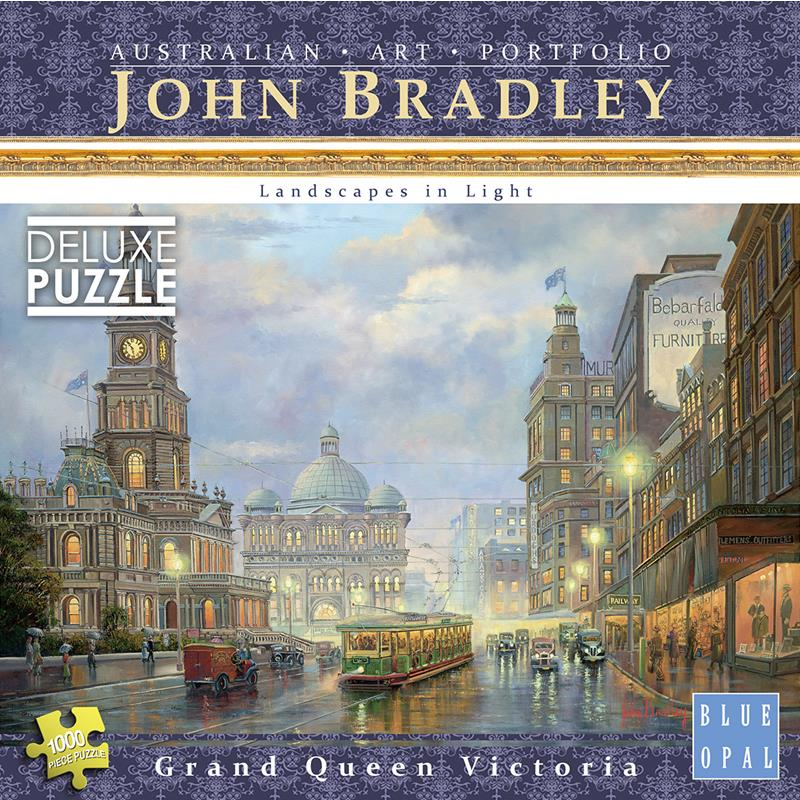 Blue Opal - John Bradley Grand Queen Victoria 1000pc Jigsaw Puzzle - Grace Baby
