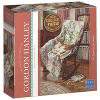 Blue Opal - Gordon Hanley An Appetite for Books Puzzle 1000pc - Grace Baby