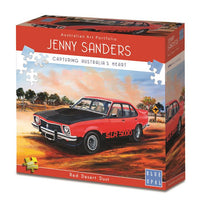 Blue Opal - Jenny Sanders Red Desert Dust Puzzle 1000pc - Grace Baby