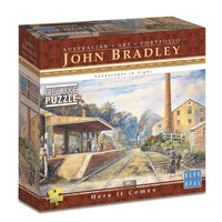 Blue Opal - John Bradley Here It Comes 1000pc Jigsaw Puzzle - Grace Baby