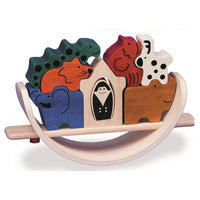 Blue Ribbon Balancing Noah's Ark - Grace Baby