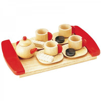 Blue Ribbon Wooden Toy Tea Cup Playset - Grace Baby