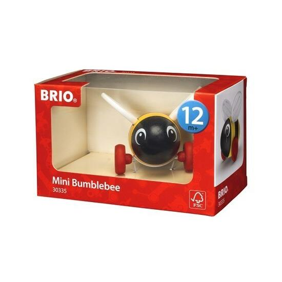 BRIO - Push Along Mini Bumblebee