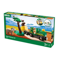 BRIO - Safari Railway Set