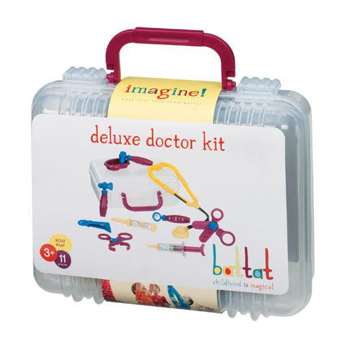 Battat Pretend Play Deluxe Doctor Kit Toy Set - Grace Baby