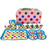 Coffee Spot Tin Coffee Tea Play Set - Grace Baby