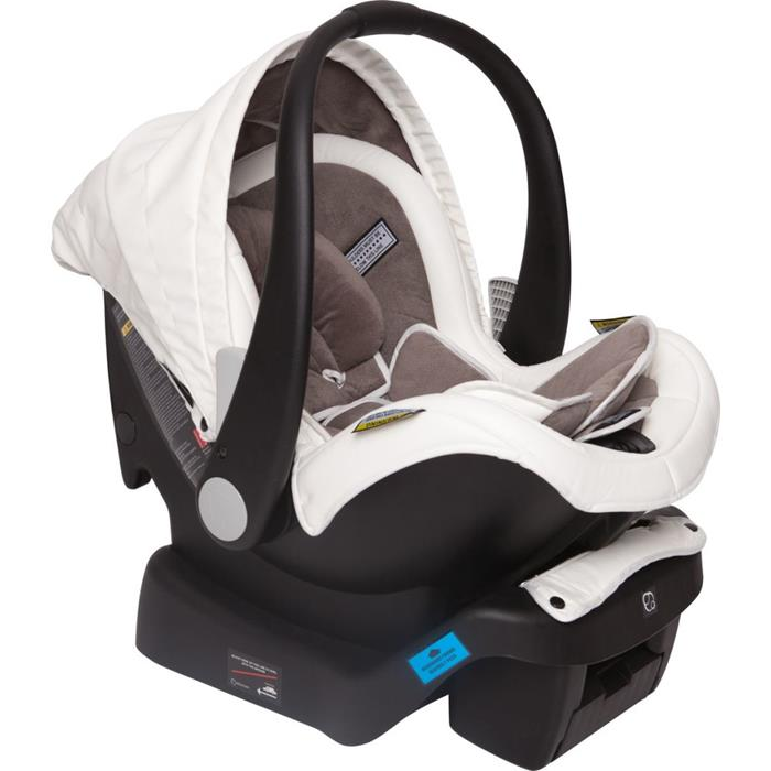 Infa Secure Arlo Vogue ISOFix Infant Carrier - Ivory - Grace Baby
