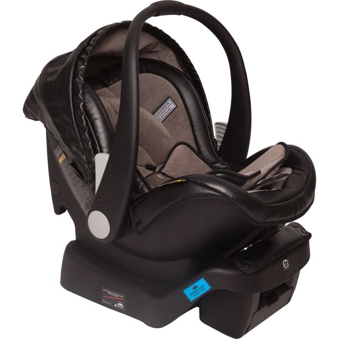 Infa Secure Arlo Vogue ISOFix Infant Carrier - Onyx - Grace Baby