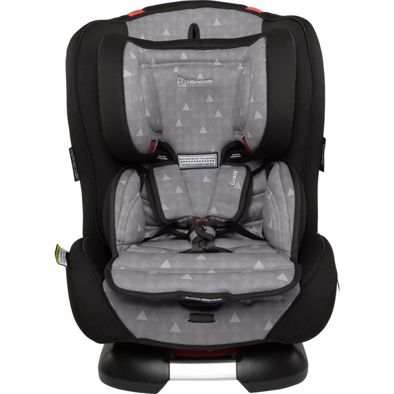 Infa Secure Luxi II Treo Convertible Car Seat - Grey - Grace Baby