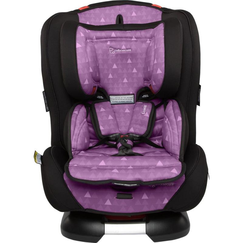 Infa Secure Luxi II Treo Convertible Car Seat - Purple - Grace Baby