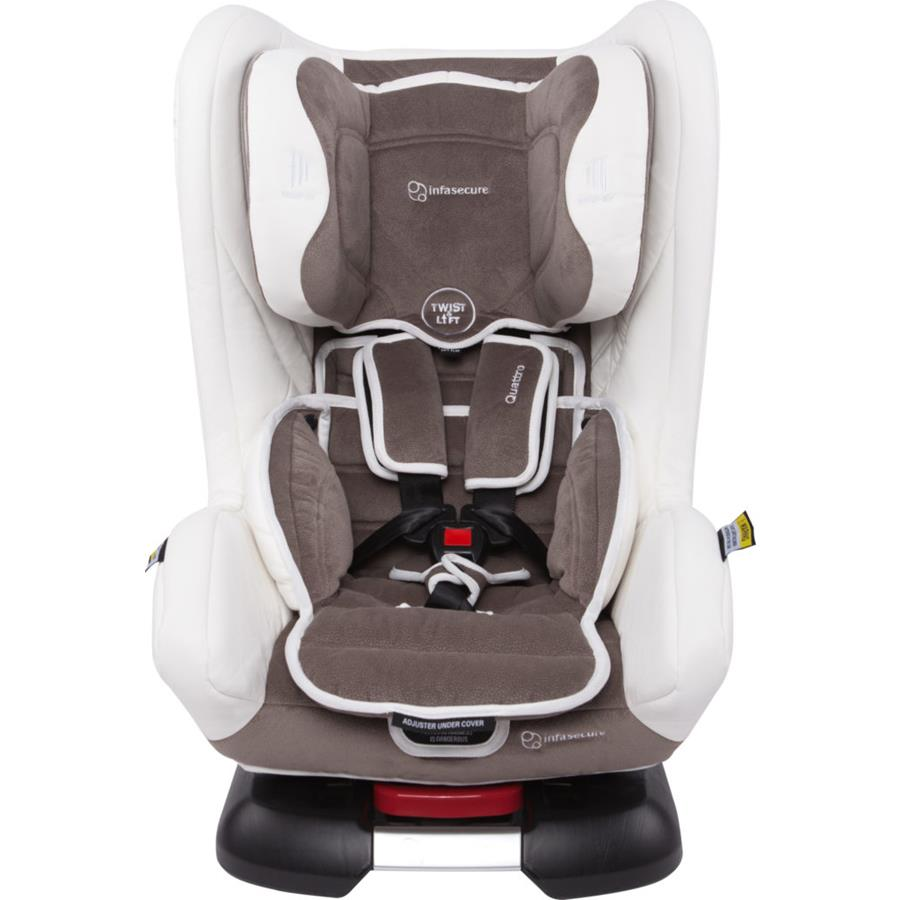 Infa Secure Quattro Vogue Convertible Car Seat - Ivory - Grace Baby