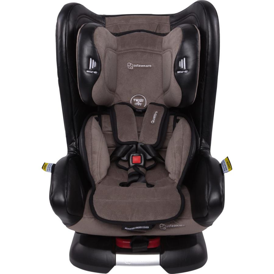 Infa Secure Quattro Vogue Convertible Car Seat - Onyx - Grace Baby