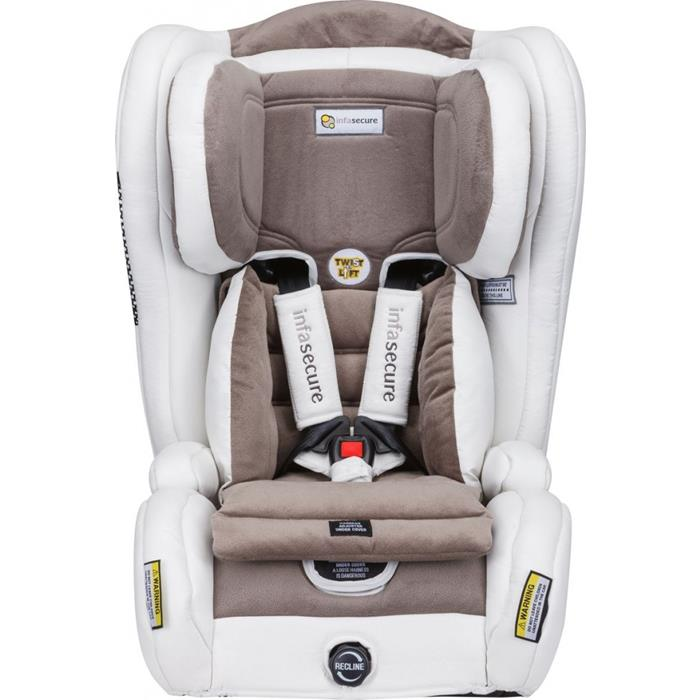Infa Secure Evolve Vogue Car Seat - Ivory - Grace Baby