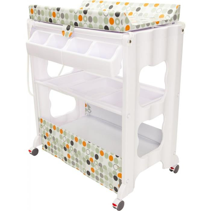 Infa Secure Cosmo Baby Bath & Change Centre - Orange Circle