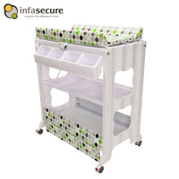 Infa Secure Cosmo Baby Bath & Change Centre - Green Circle