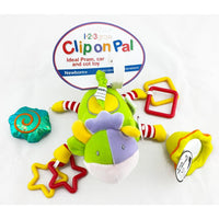 123 Grow Clip on Pal - Activity Cow