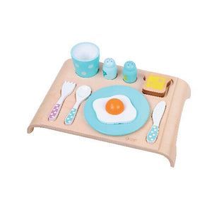 Classic World - Wooden Pretend Play Toy - Breakfast Set