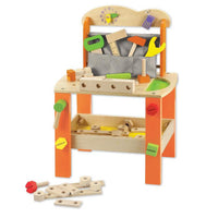 Classic World - Wooden Pretend Play Toy - Tool Bench