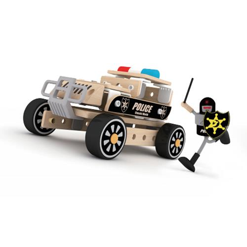 Classic World - Police Vehicle Building Set - Grace Baby