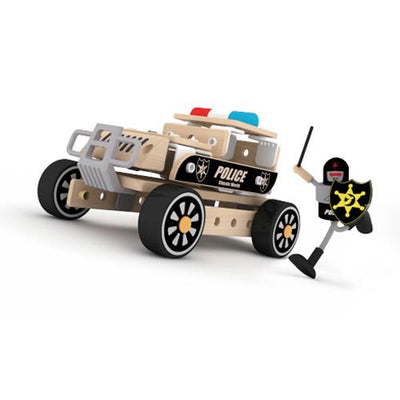 Classic World - Police Vehicle Building Set