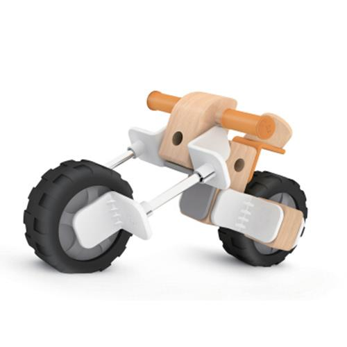 Classic World - Motorcycle Building Playset