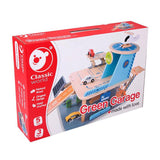 Classic World Wood Green Garage Playset - Grace Baby