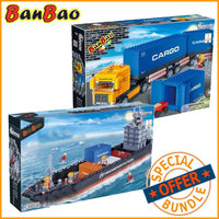 BanBao City Transport Cargo Ship and Truck Package - Grace Baby