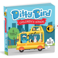 Ditty Bird Interactive Musical Book - Children's Songs - Grace Baby